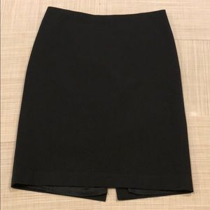 Black fully lined skirt from Talbots size 10